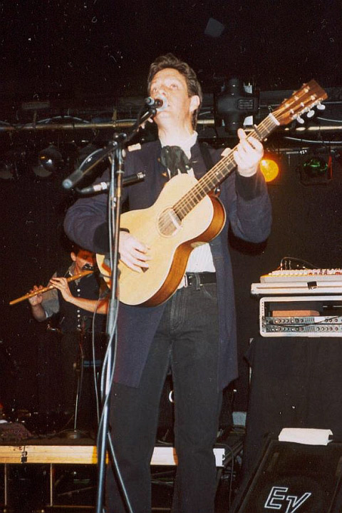 Dave Kincaid (The Brandos) in Aschaffenburg (31. Januar 2004)