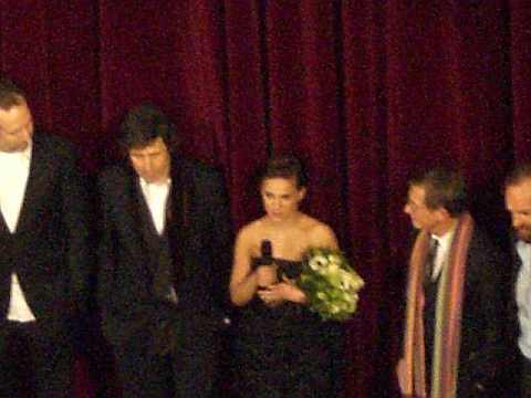 James McTeigue, Stephen Rea, Natalie Portman, John Hurt, Hugo Weaving