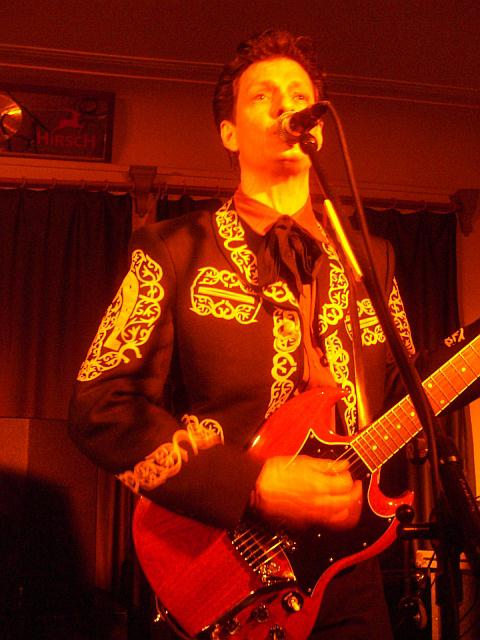Dave Kincaid (The Brandos) live in Tuttlingen am 7. Dezember 2006