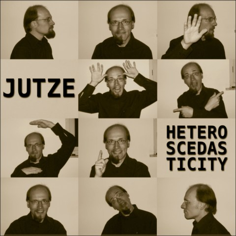 Jutze - Heteroscedasticity (Cover Artwork)
