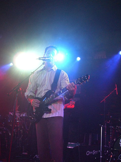Nick D'Virgilio (Spock's Beard) live in Aschaffenburg (5. Oktober 2005)