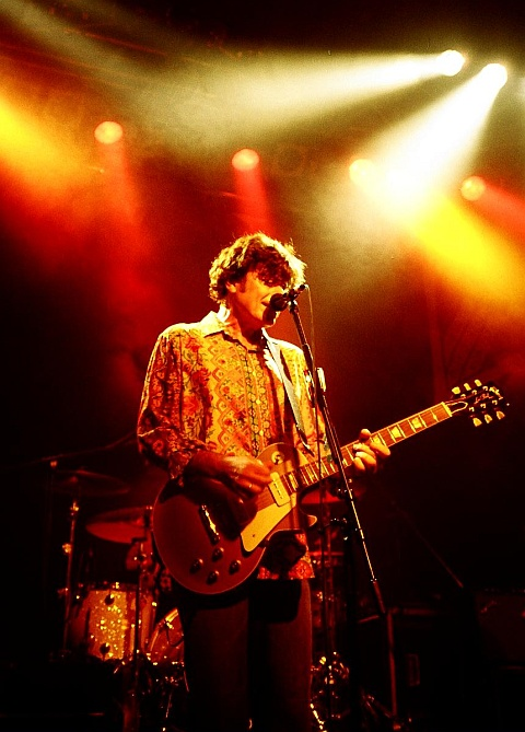 Eric Bazilian (The Hooters) live in Augsburg (22. Juni 2005)