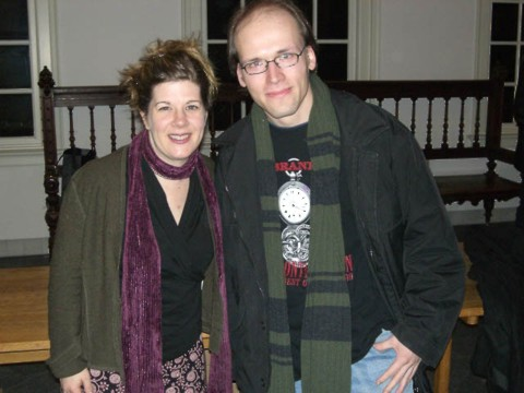 Dar Williams and me (January 14th, 2006)