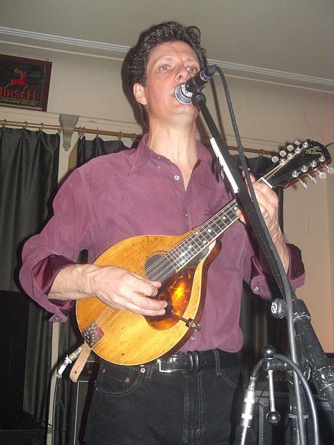 Dave Kincaid (The Brandos) live in Tuttlingen am 7. Dezember 2006