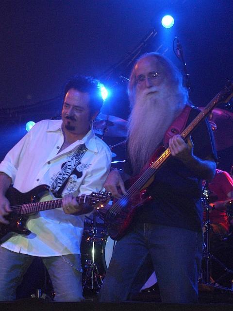 Steve Lukather, Leland Sklar, and Simon Phillip's arm
