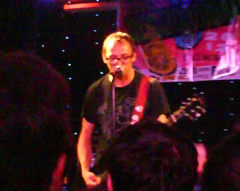 Mikey Erg live in Baltimore (June 21st, 2012)